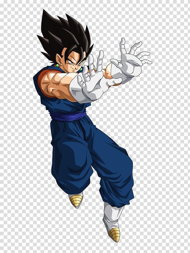 Vegetto illustration, Vegeta Goku Majin Buu Dragon Ball Super Saiya.