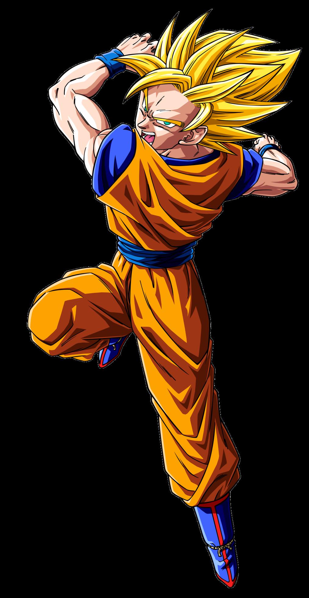 Dragon Ball Z Goku Transparent Image.