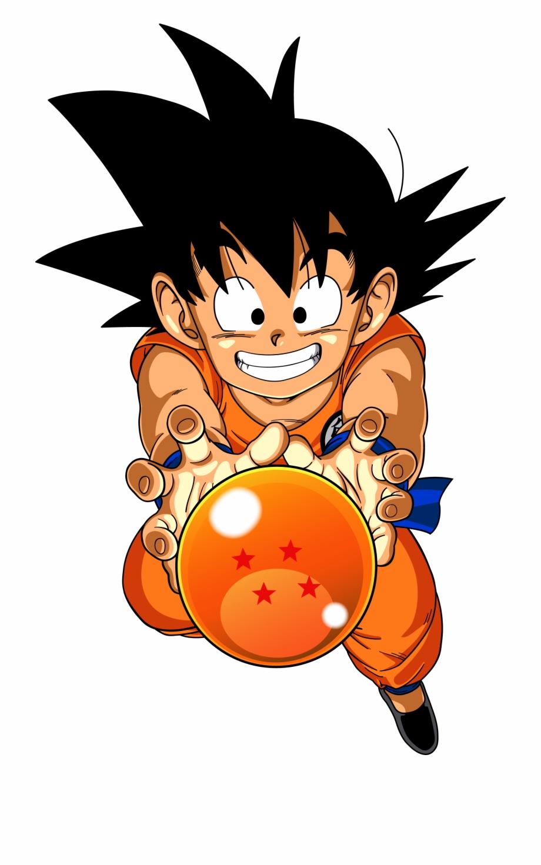 Dragon Ball Z Goku Png Transparent Image.