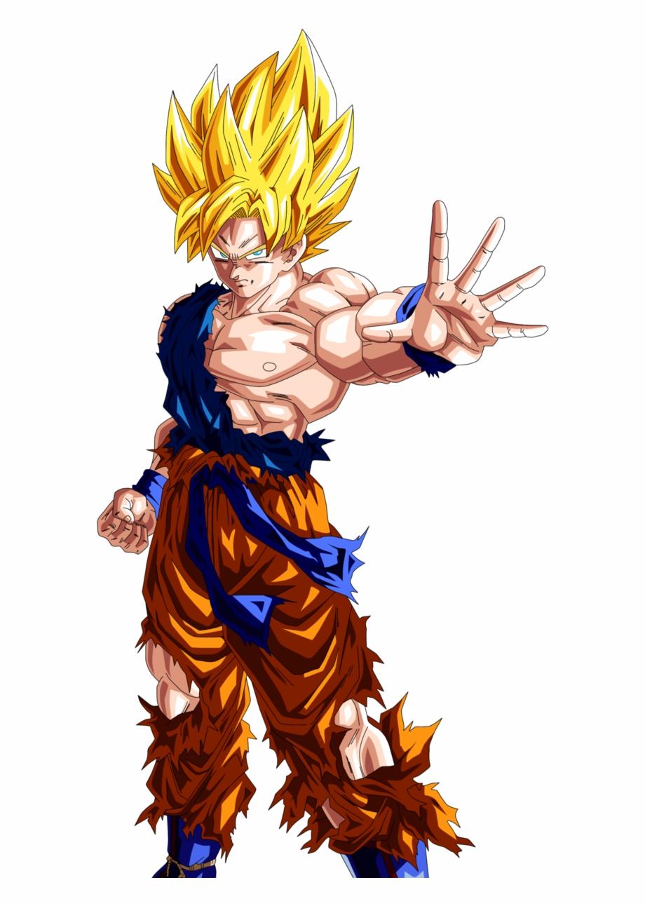 Goku As A Super Saiyan.