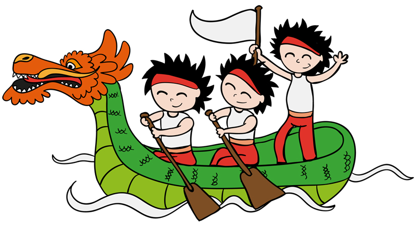 Serendipity in dragon boating.