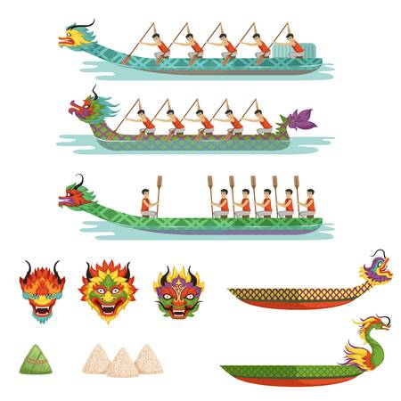 1,386 Dragon Boat Stock Vector Illustration And Royalty Free Dragon.