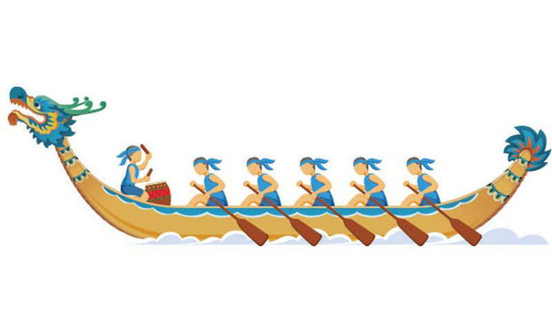 Dragon boat clipart 7 » Clipart Station.