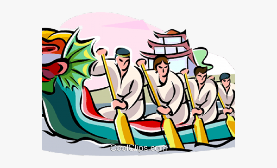 Chinese Clipart Dragon Boat Festival.