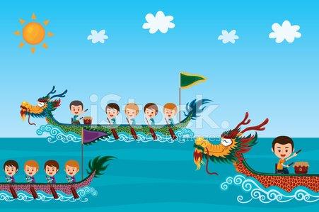 Dragon Boat Festival premium clipart.
