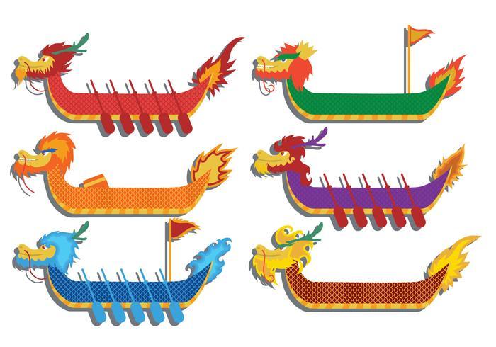Dragon boat festival vector.