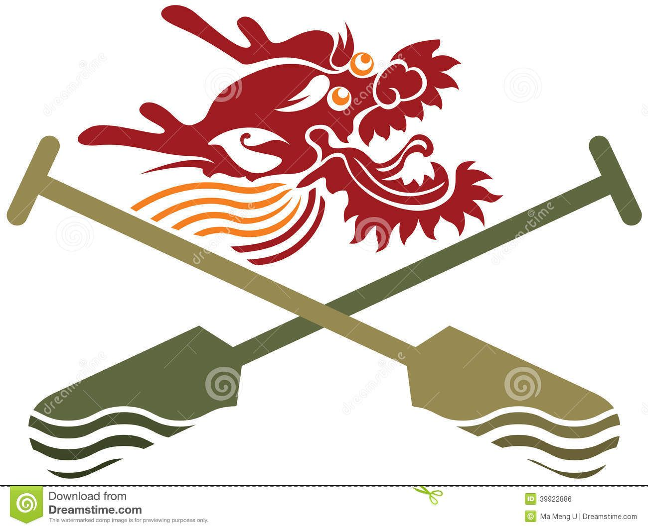 Sport For > Dragon Boat Racing Clip Art.