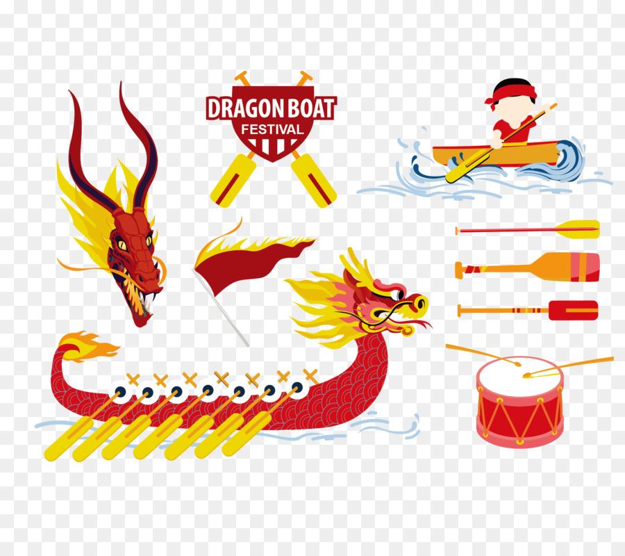 Dragon Boat Festival png download.
