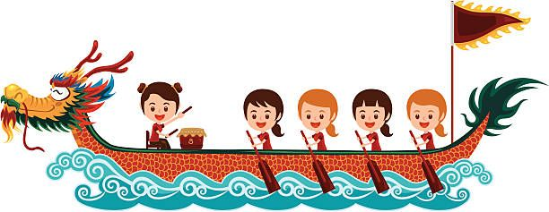 Image result for dragon boat clipart.