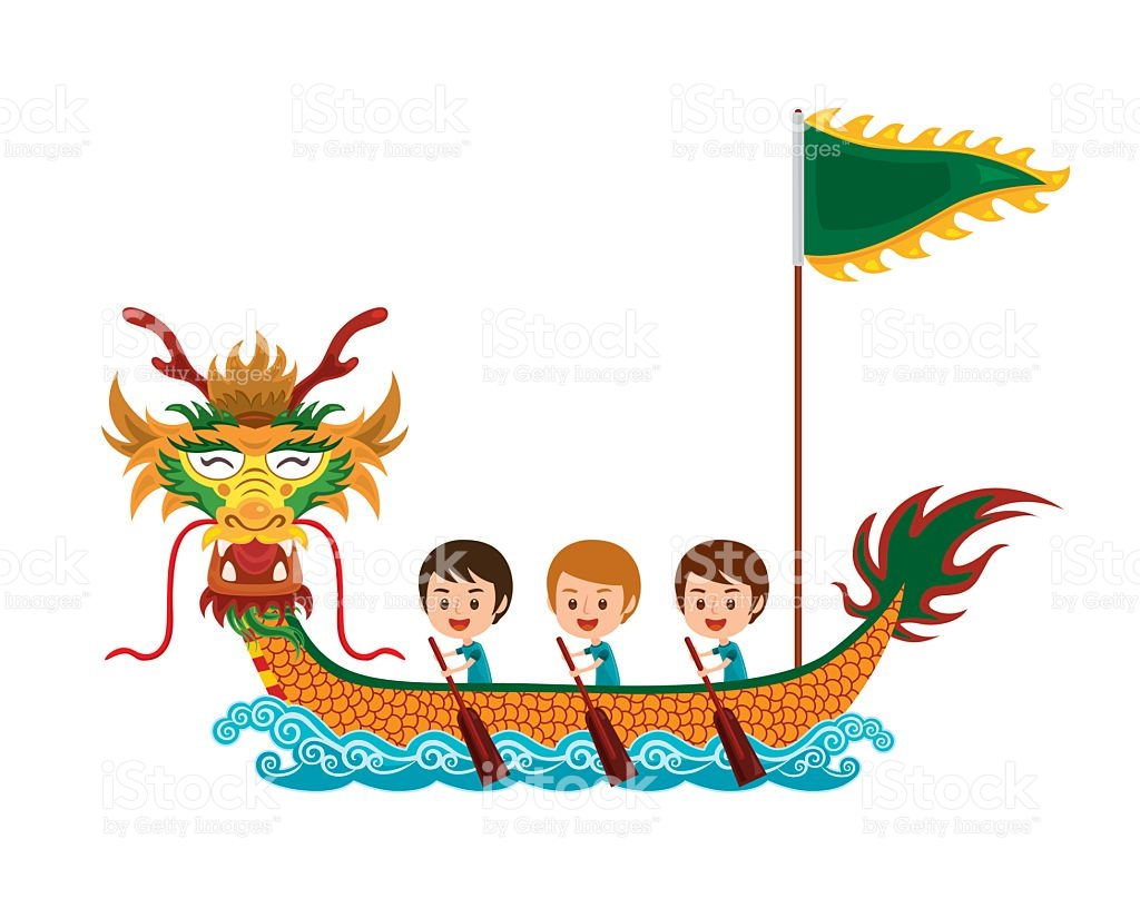 Dragon Boat Race stock vector art 531691600.
