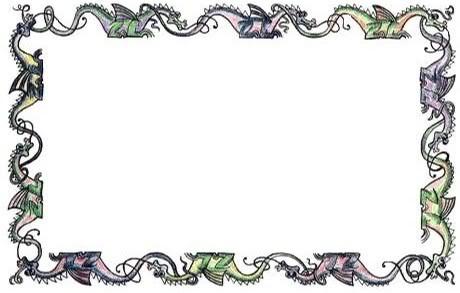 Free Dragon Border Cliparts, Download Free Clip Art, Free Clip Art.