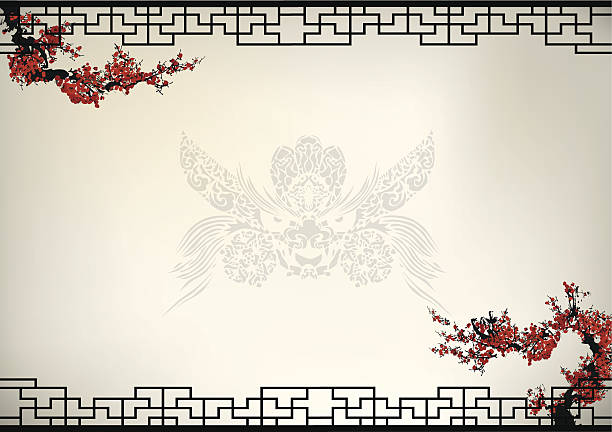 Best Dragon Borders Illustrations, Royalty.