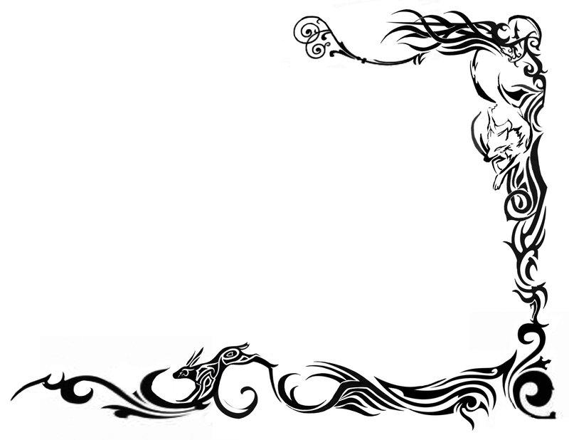 Free Dragon Border Cliparts, Download Free Clip Art, Free.
