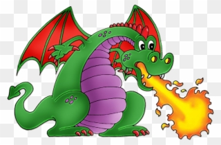 Free PNG Dragon Breathing Fire Clip Art Download.