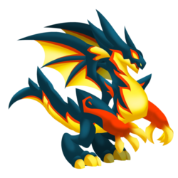 Dragons that look alike.