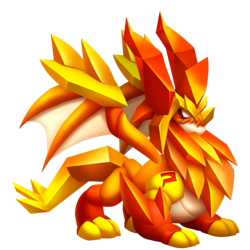 Topaz Dragon :: Legendary type Dragon details and information.