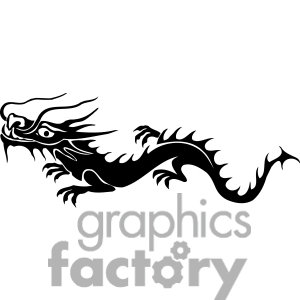 Chinese Dragon Clipart Easy.