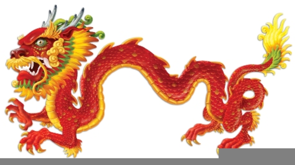 Chinese New Year Dragon Clipart.