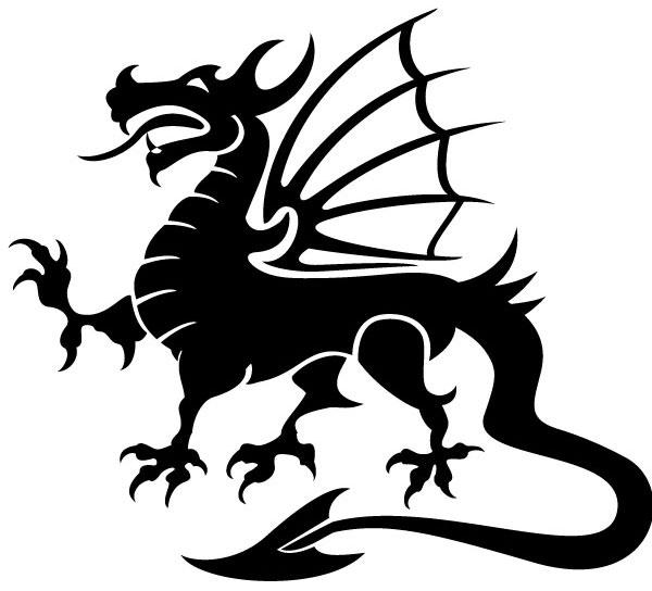 Free dragon clip art.
