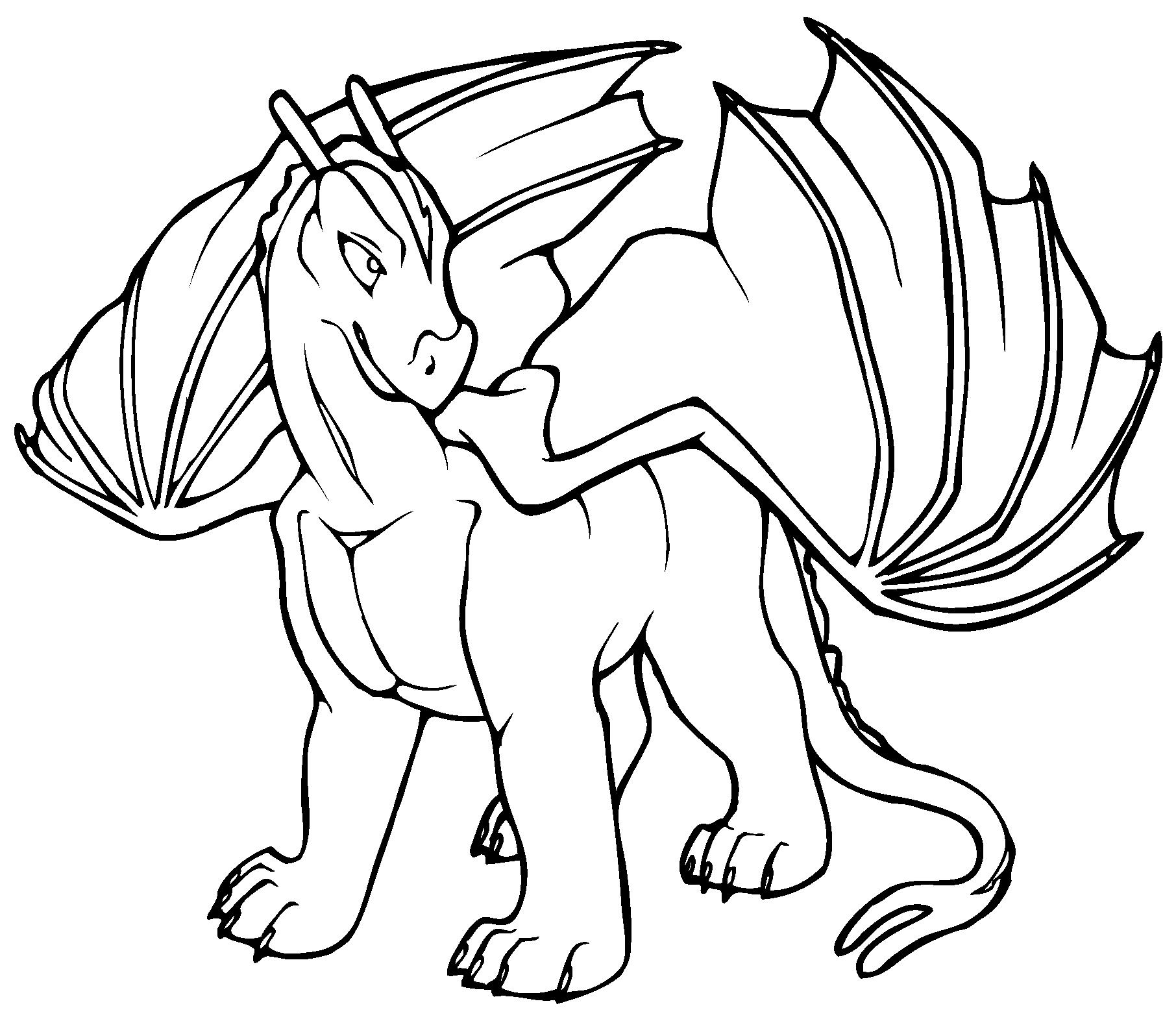 Cartoon Bearded Dragon.