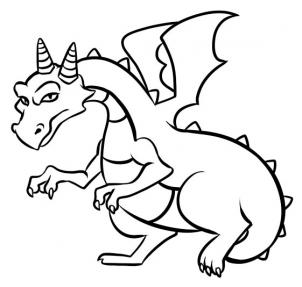 Free Simple Dragon, Download Free Clip Art, Free Clip Art on.