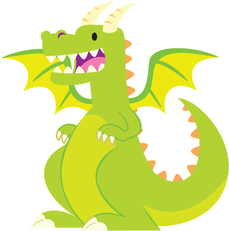 Free To Use Public Domain Dragon Clip Art.