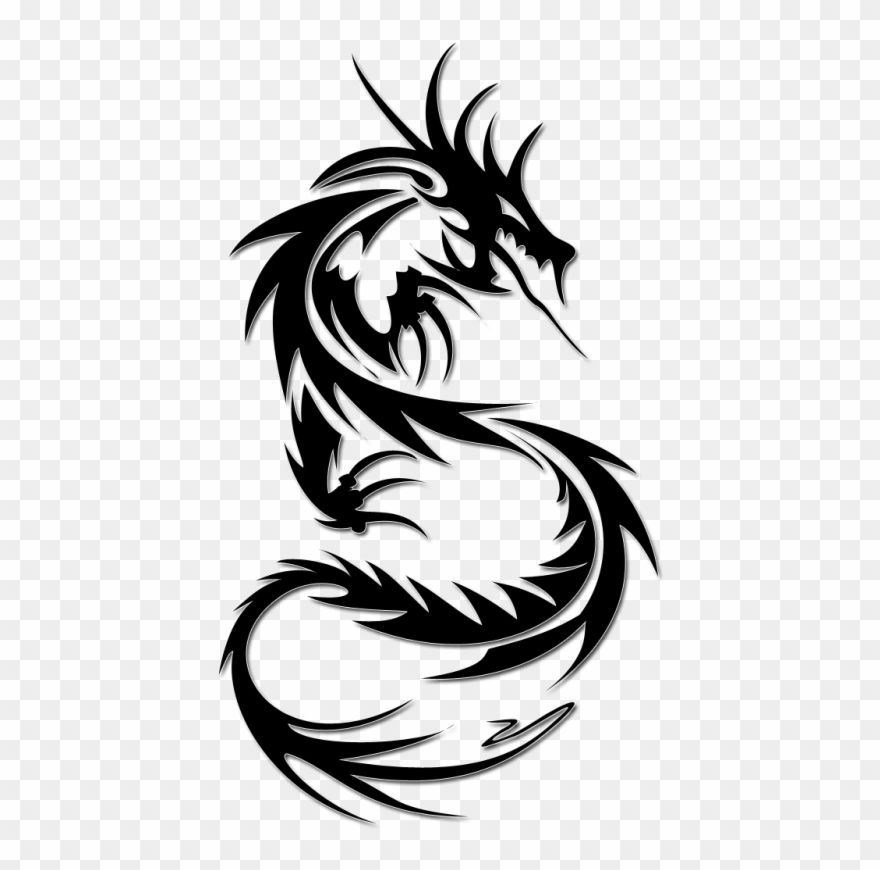 Pin Dragon Clipart Transparent Background.