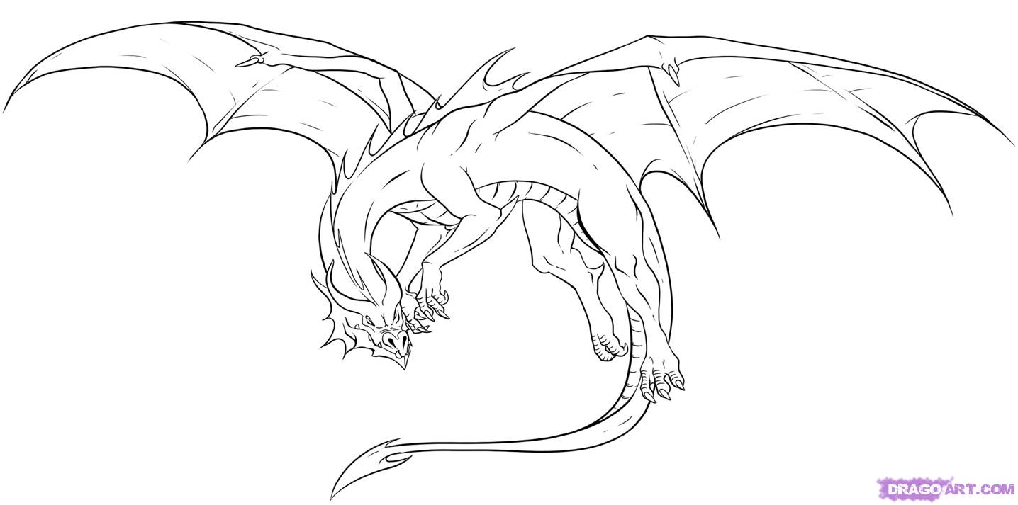 Free Dragon Drawings, Download Free Clip Art, Free Clip Art.