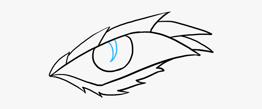 How To Draw A Dragon Eye.