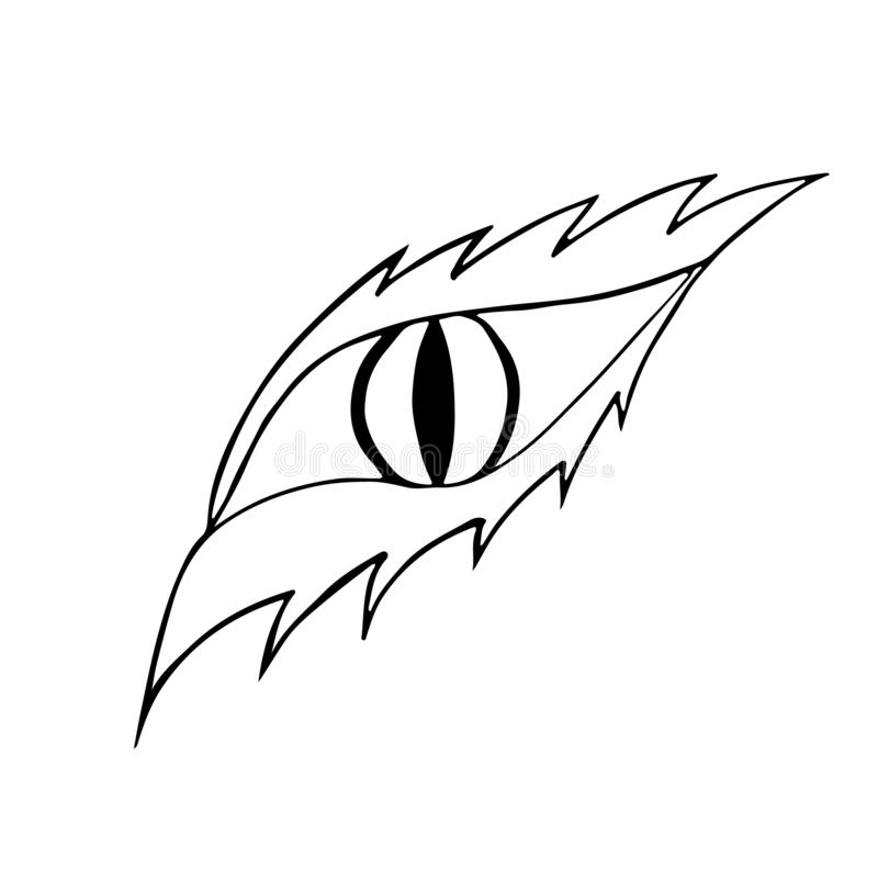Dragon Eye Stock Illustrations.