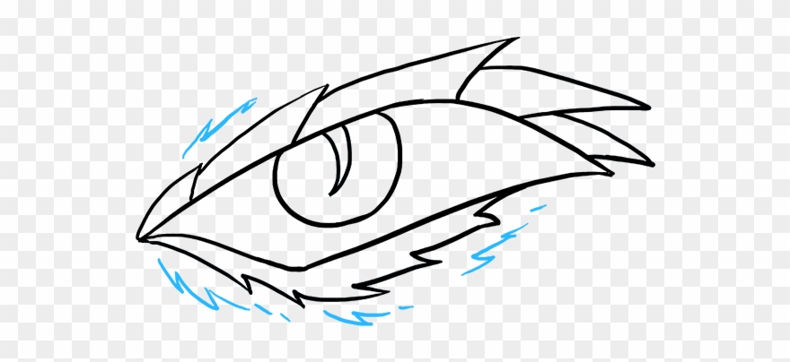 How To Draw Dragon Eye Clipart (#2978080).