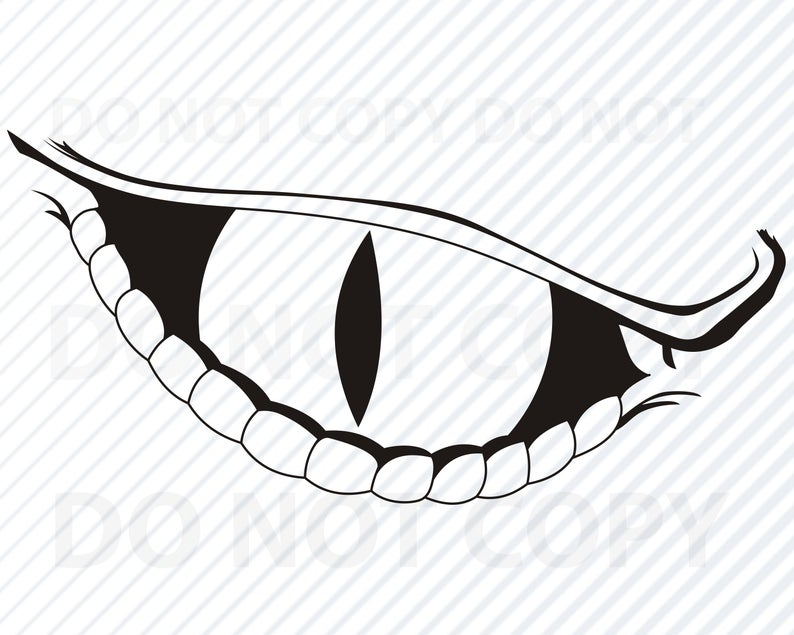 Dragon eye SVG File for cricut.