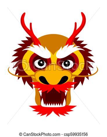 Dragon demon monster head face Vector Clip Art EPS Images. 44 Dragon.