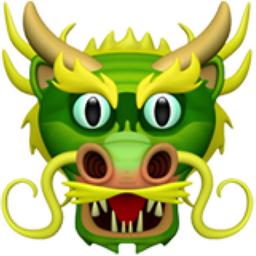 Dragon Face Emoji (U+1F432).