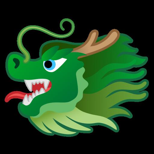 Dragon face Icon.