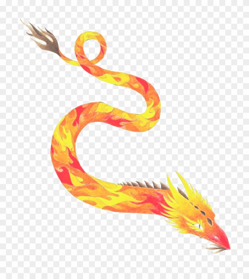 Fire Dragon Free Png Image.