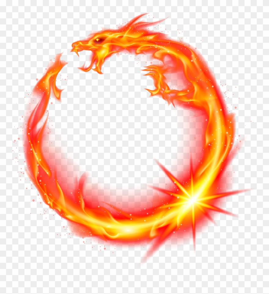 Flame Dragon Fire Red.