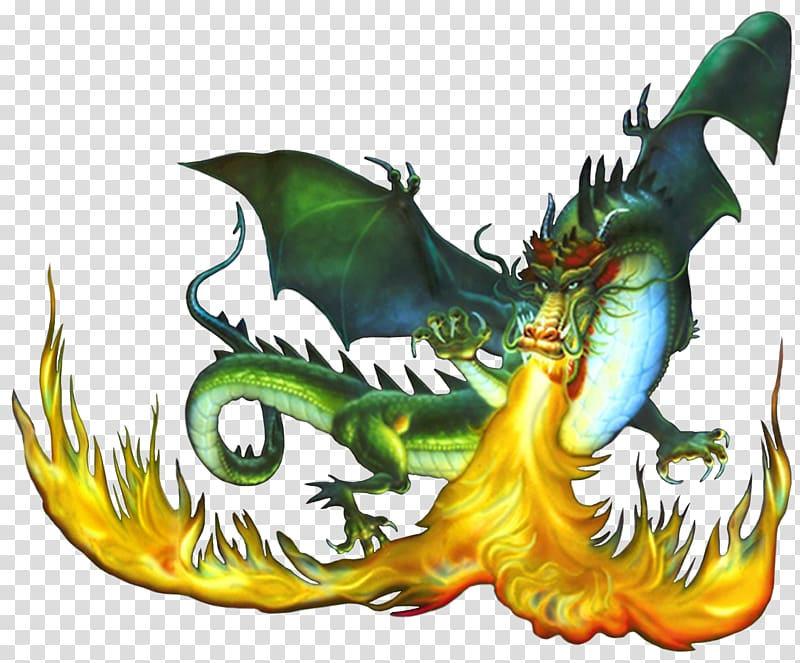 Dragon Fire breathing , Firebreathing Dragon transparent.