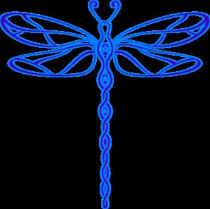8 dragon fly clip art..
