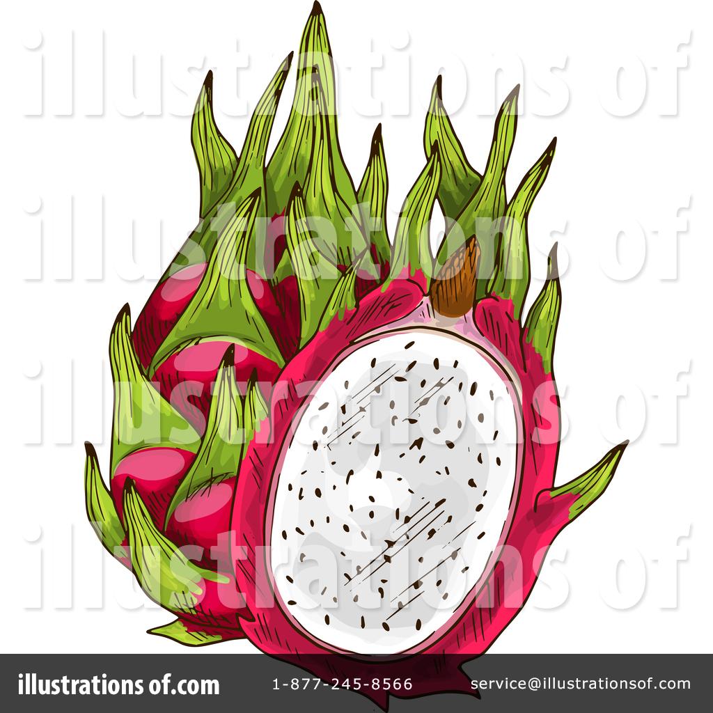 Dragon Fruit Clipart #1462589.