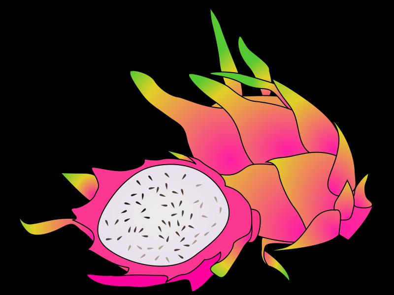 Free Clipart: Dragon fruit.