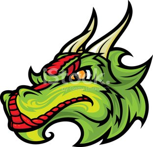 Dragon Head premium clipart.