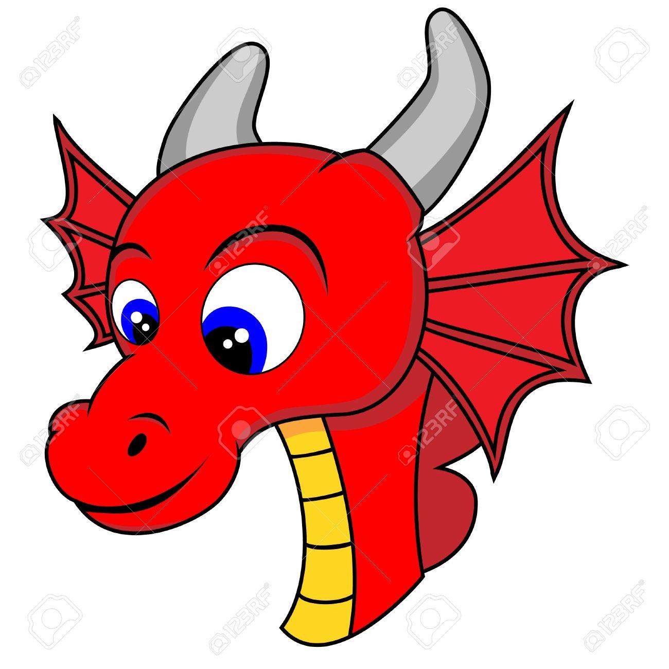 Cute Dragon Head.