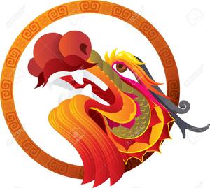 Clipart Chinese Dragon Head.