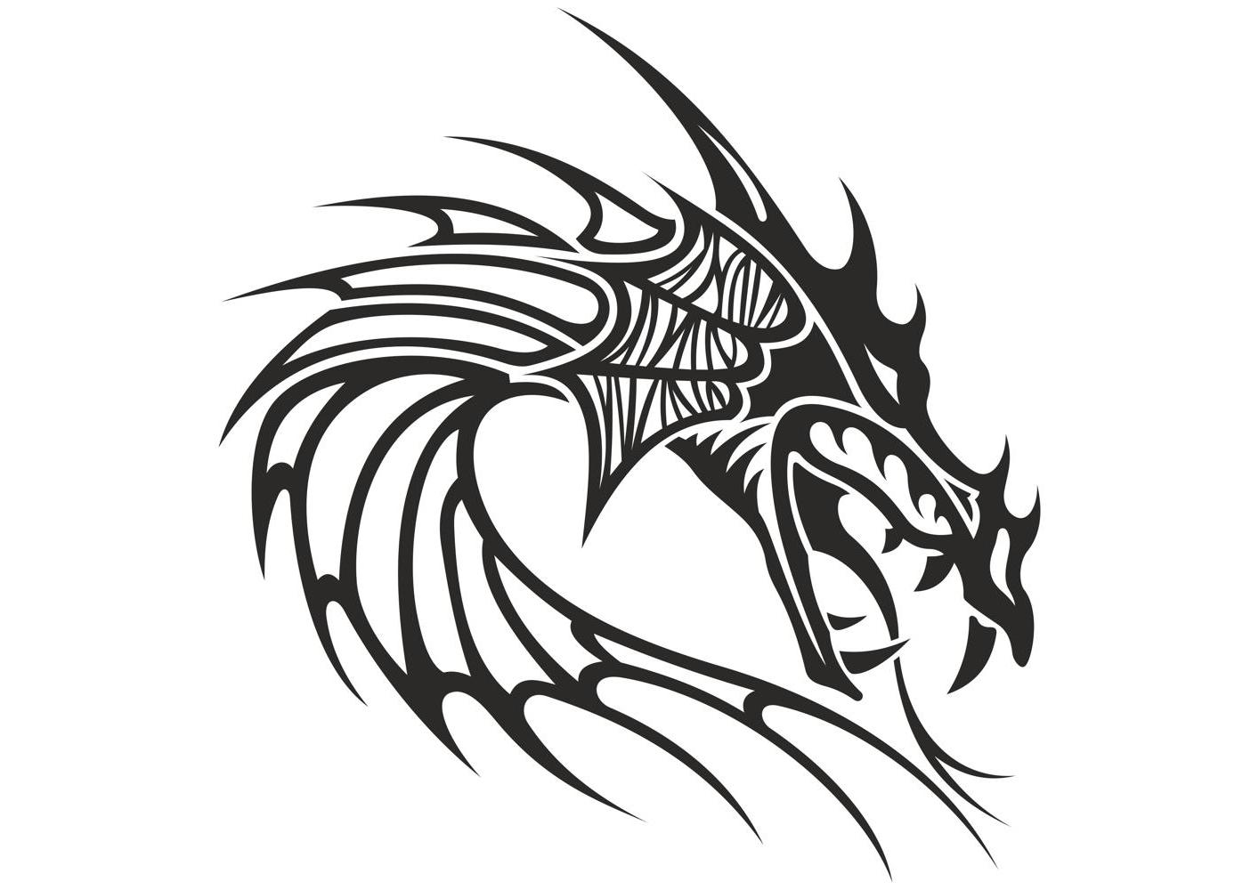 Best HD Dragon Head Clip Art Vector Photos » Free Vector Art, Images.