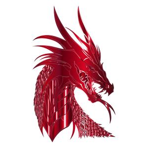 Crimson Dragon Head clipart, cliparts of Crimson Dragon Head free.