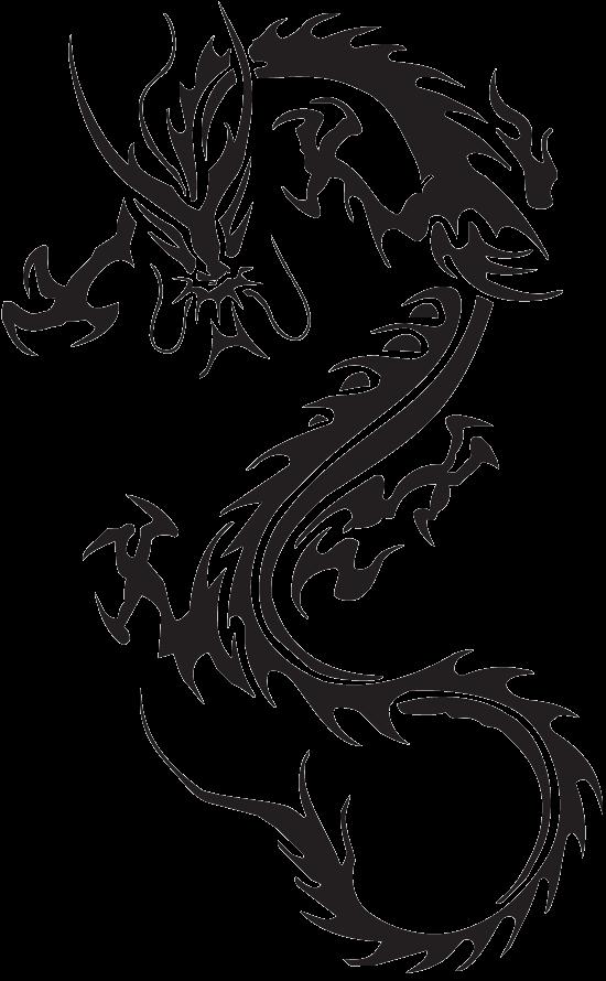 Dragon Transparent PNG Image.