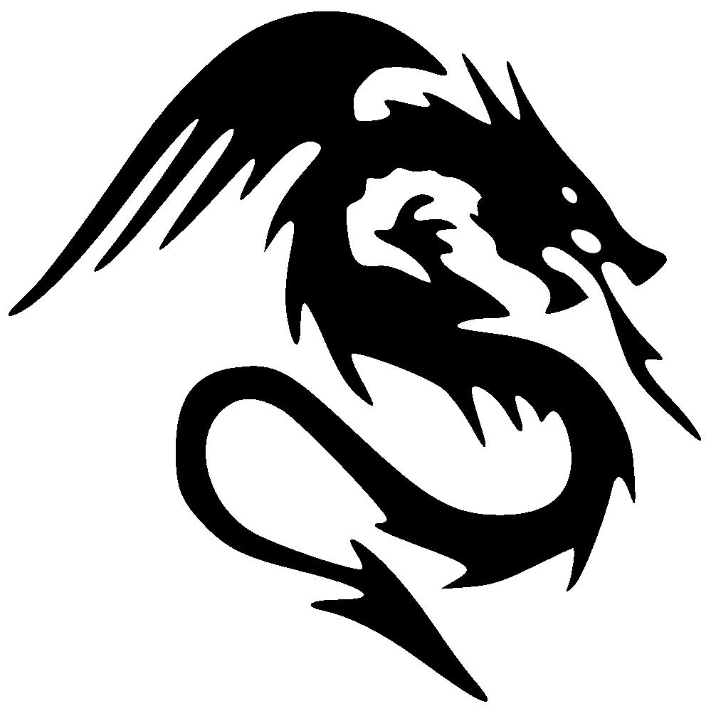Dragon Clipart Logo.