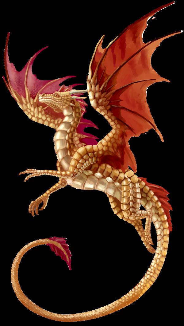 Flying Dragon Transparent Background.