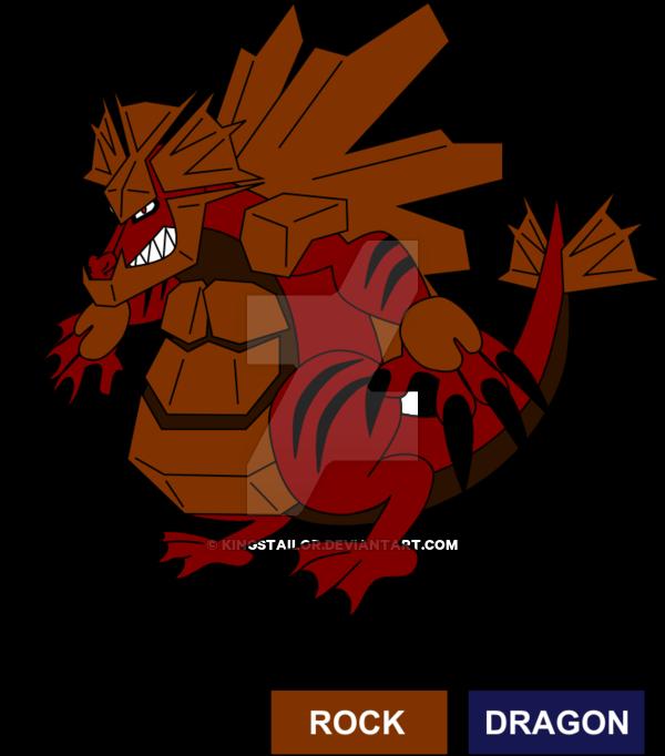 Rock Dragon Fossil Legendary Fakemon by KingsTailor on DeviantArt.